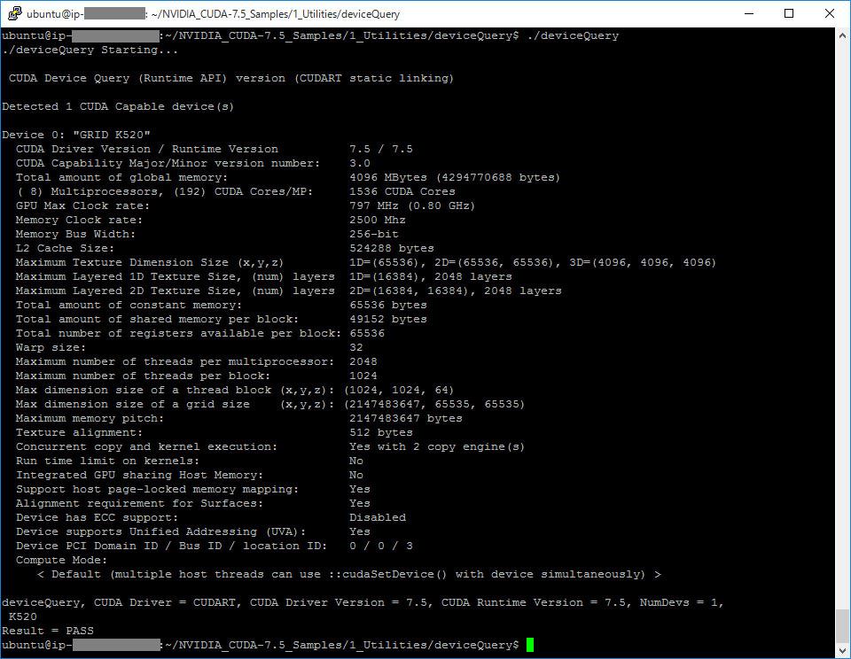 CUDA Ubuntu AMI 02