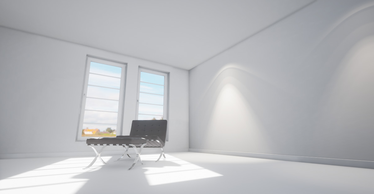 UE4 Light Setting Test